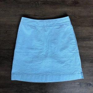 Vineyard Vines Seersucker Skirt Size XS